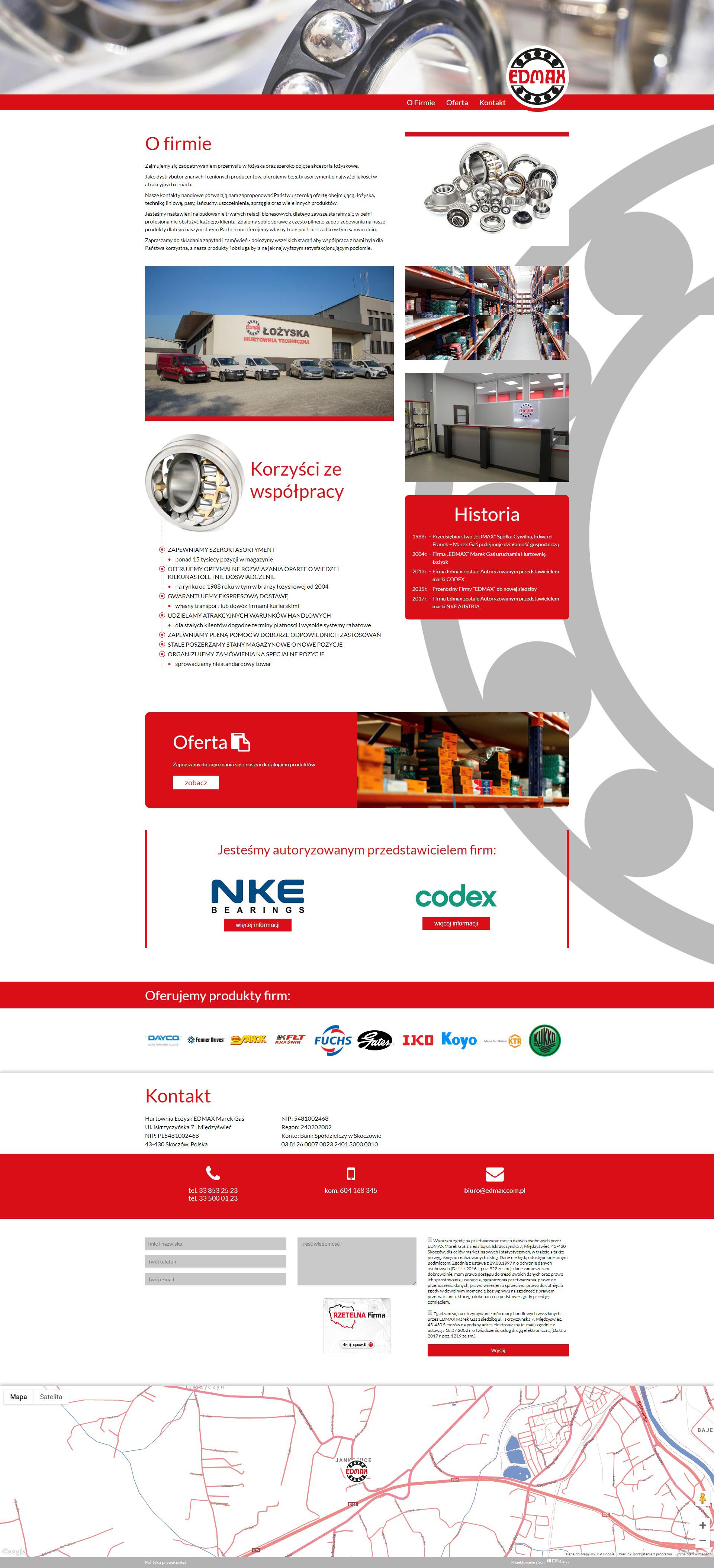 833fd219a541e Tworzenie oraz projektowanie stron internetowych. DiVision z Cieszyna.
